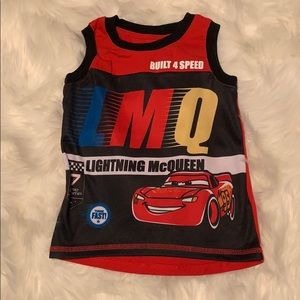 "EUC size 4T Disney ""Cars"" Lighting McQueen shirt"